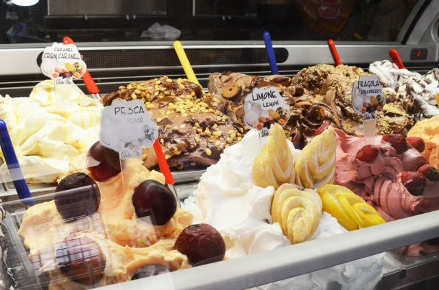 oh and that Italian Gelato.., a tongue melting heaven