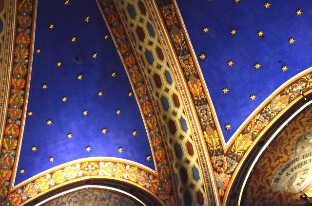...most beautiful ceilings...