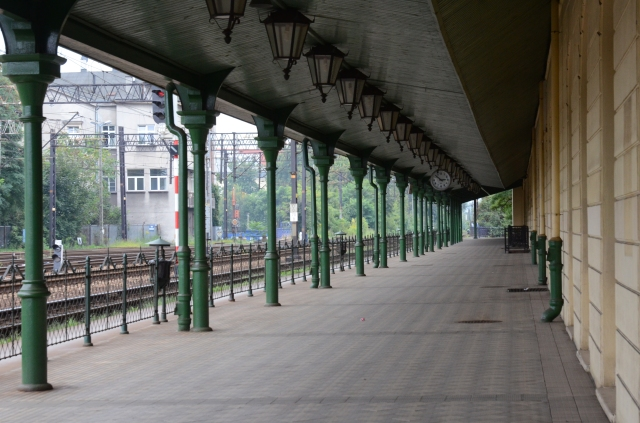The Old train station , where Jews arrived to be transported to close by camps. The train station is closed and not really a tourist attraction.